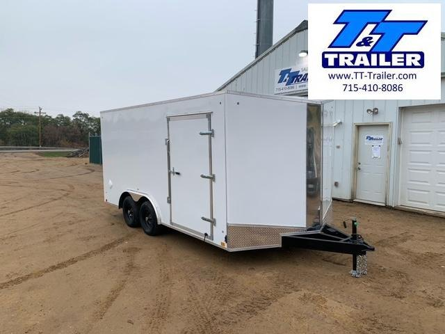 2021 Discovery Challenger ET 8.5 x 16 V-Nose Enclosed Combination Car and Toy Hauler Trailer
