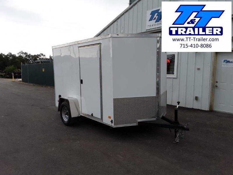2022 Darkhorse 6 x 10 V-Nose Enclosed Cargo Trailer