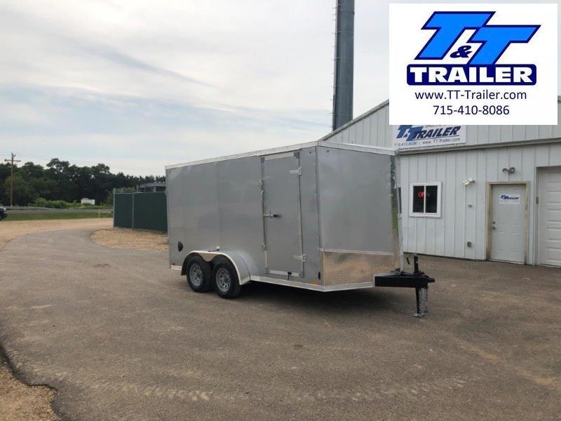 FOR RENT - 7 x 14 V-Nose Enclosed Cargo Trailer