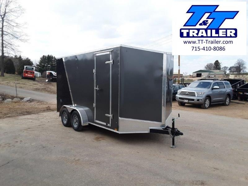 FOR RENT - 7 x 14 V-Nose Enclosed Cargo Trailer