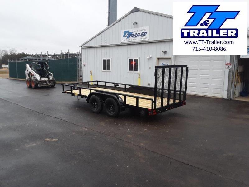 "2021 Big Tex 60PI 77"" x 16' Tandem Axle Utility Trailer"
