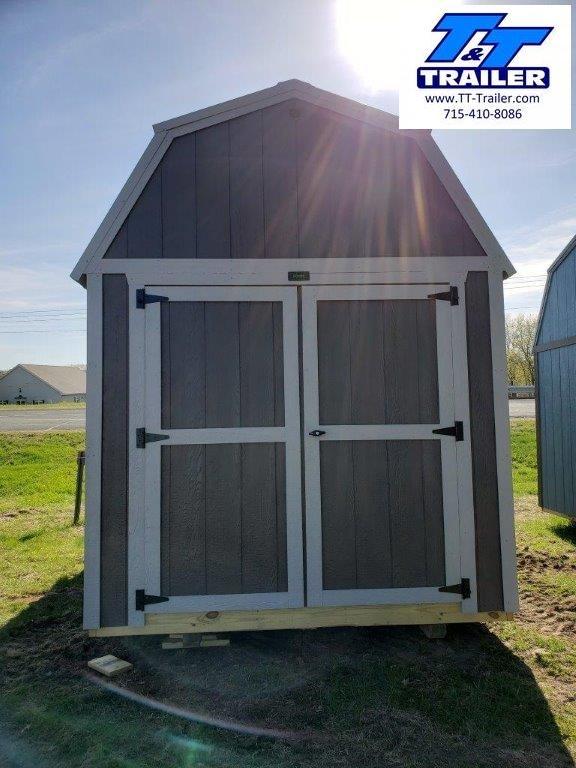 2021 Premier Urethane 8'x12' Lofted Barn