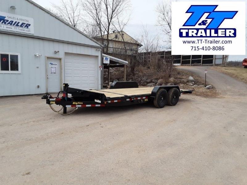 "2022 Big Tex 14TL 83"" x 20' Heavy Duty Tilt Equipment Trailer"