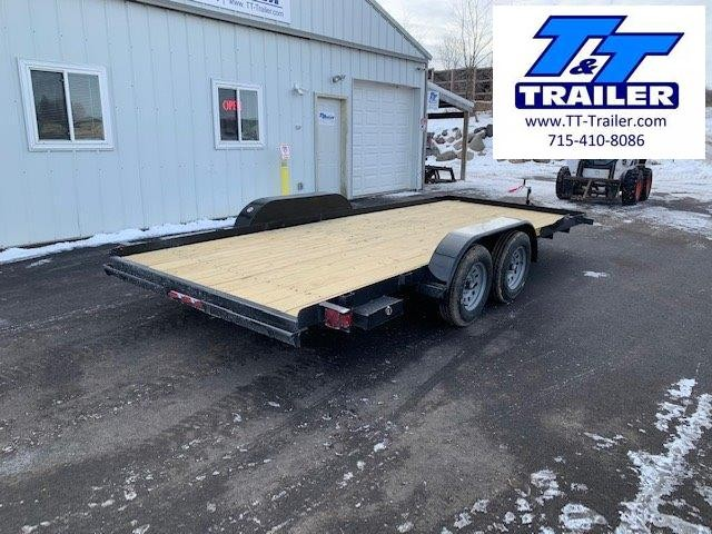 """2021 Big Tex 60EC 83"""" x 18' Car Hauler Trailer"""