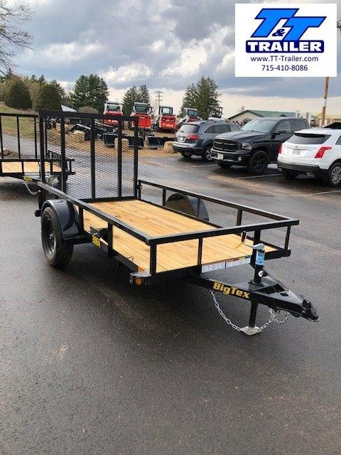 "2021 Big Tex 30SA 60"" x 10' Single Axle Utility Trailer"
