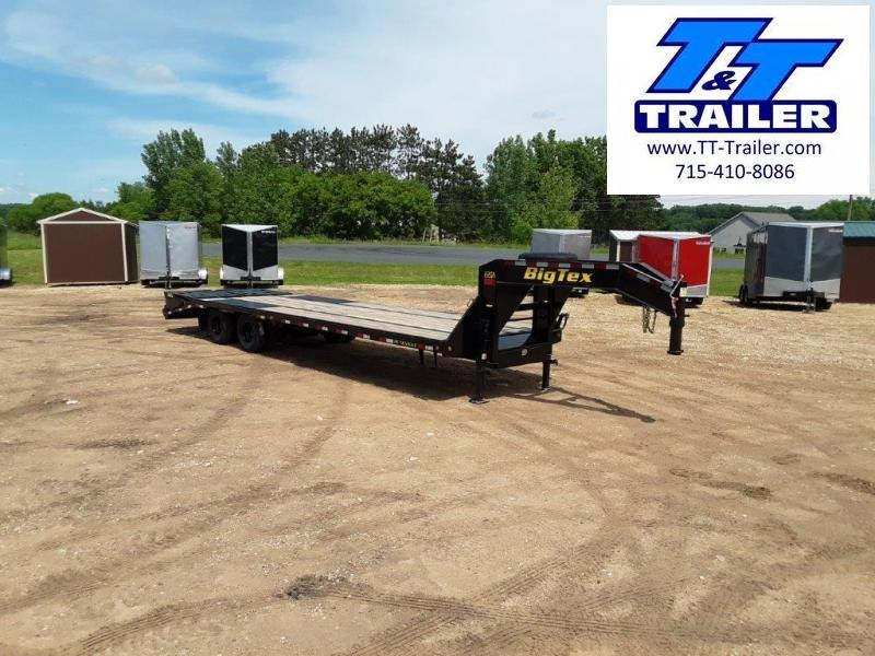 FOR RENT - 102 x 35 (30+5) Heavy Duty Gooseneck Deckover Trailer w/ Monster Ramps