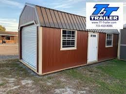 2021 Premier Urethane 12'x20'Lofted Garage Utility Shed