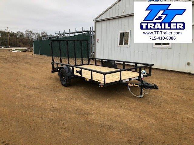 "2021 Big Tex 35SA 77"" x 12' Single Axle Utility Trailer"