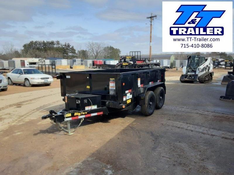 "2021 Big Tex 90SR 72"" x 10' Single Ram Dump Trailer"