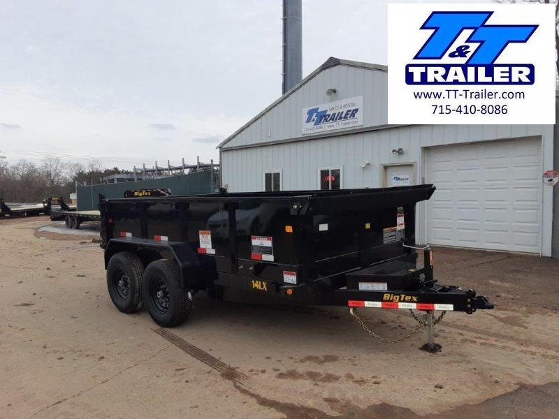 "FOR RENT - 83"" x 12' Dump Trailer w/ 2' High Sides"