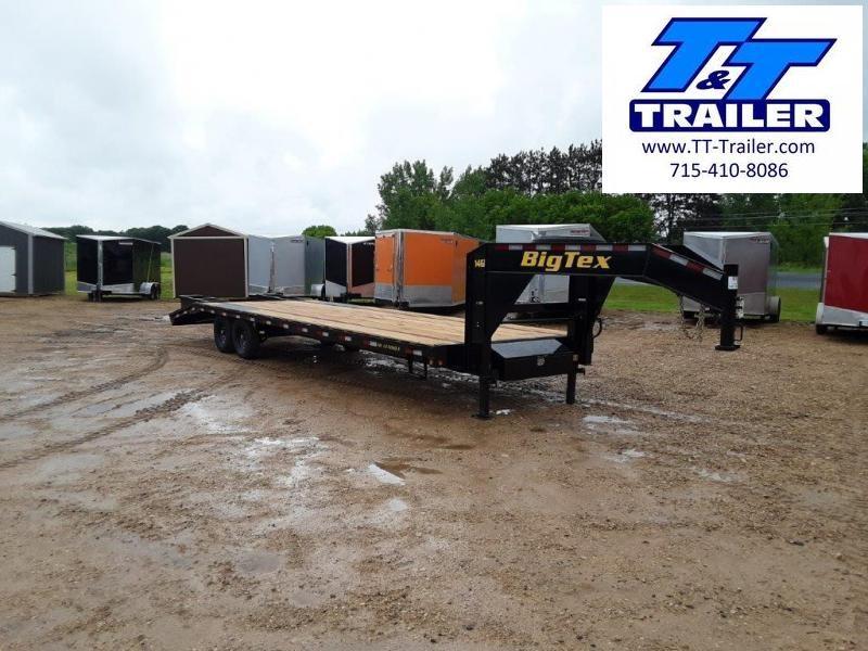 "2022 Big Tex 14GN 102"" x 30' Single Wheel Tandem Gooseneck Trailer"