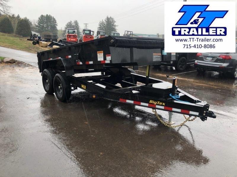 "2022 Big Tex 14LD 83"" x 14' Low Profile Dump Trailer (14000 GVWR)"
