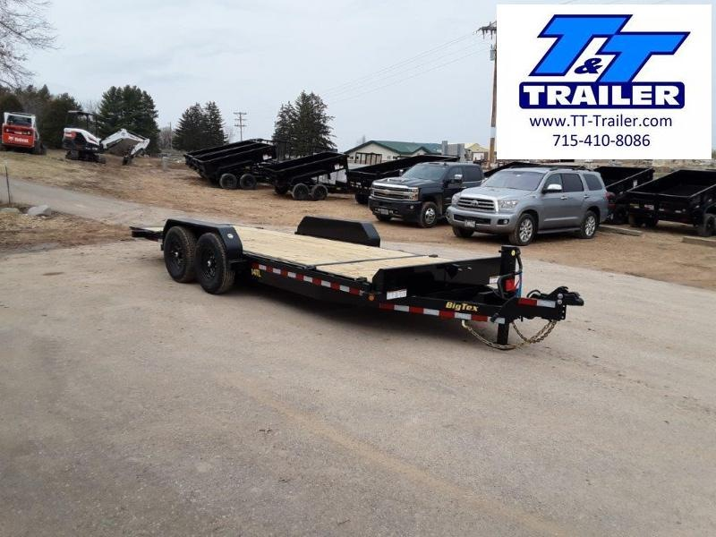 "2021 Big Tex 14TL 83"" x 20' Heavy Duty Tilt Equipment Trailer"