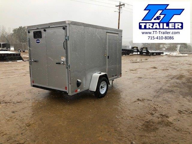 2021 United Trailers 6 x 10 V-Nose Enclosed Cargo Trailer