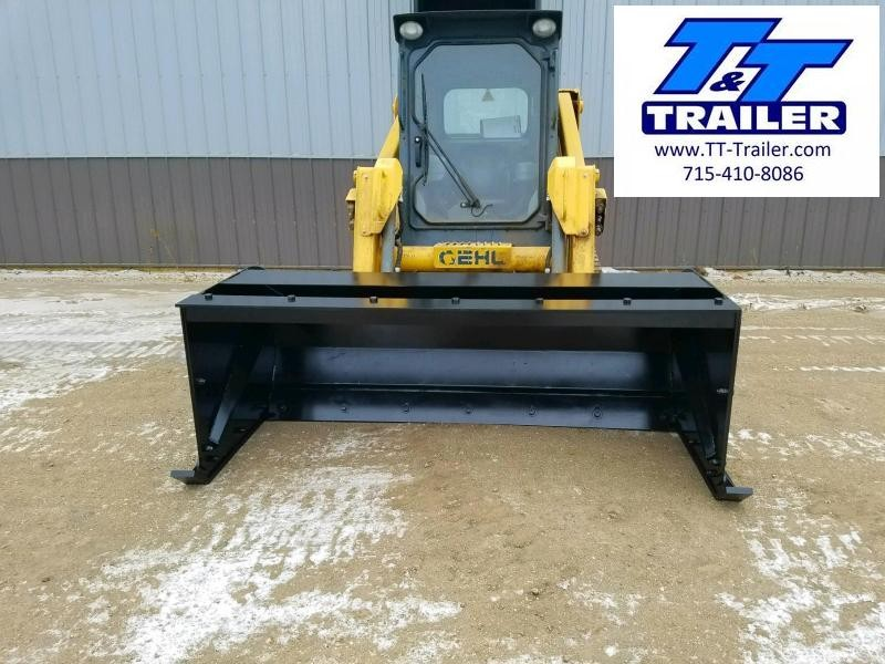 FOR RENT - Snow Pusher Attachment for Bobcat (8')