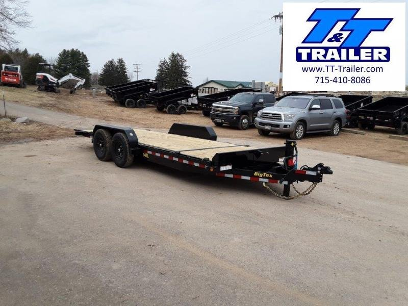 FOR RENT - 83 x 20 Car and Equipment Trailer w/ Tilt Bed