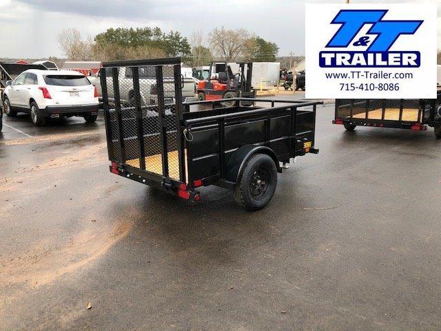 "2021 Big Tex 30SV 60"" x 8' Single Axle Utility Trailer"