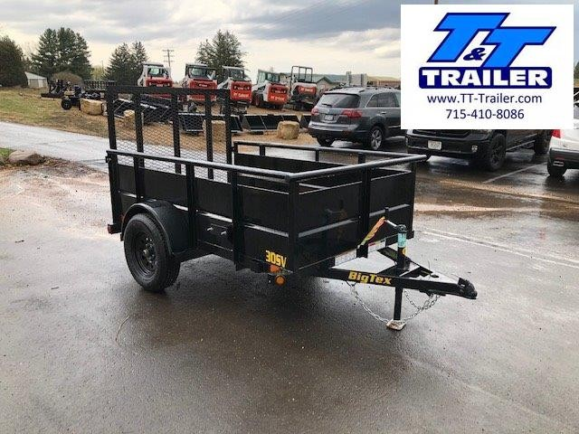"2021 Big Tex 30SV 60"" x 8' Single Axle Utility Trailer"