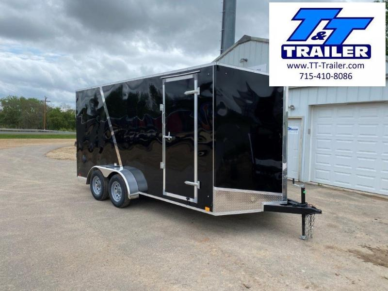2021 Discovery Rover ET 7 X 16 V-Nose Enclosed Cargo Trailer