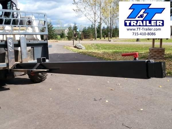 FOR RENT - Extendable Boom or Jib Attachment for Bobcat