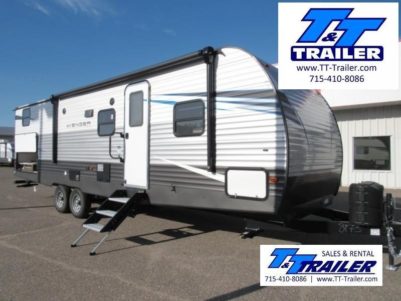 FOR RENT - 27' Primetime Avenger Bunkhouse Camper Trailer