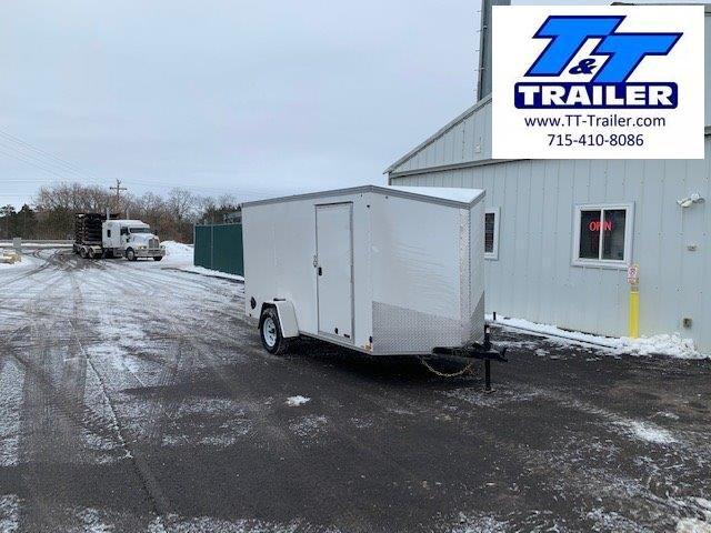 2021 United Trailers 6 x 12 V-Nose Enclosed Cargo Trailer