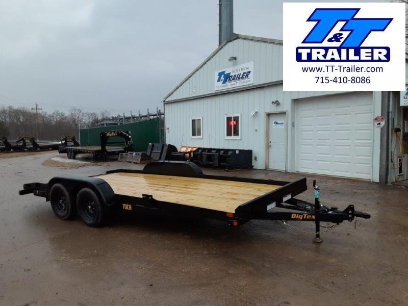 "2021 Big Tex 70CH 83"" x 20' Car Hauler"