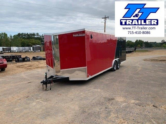 2021 Discovery Challenger SE 8.5 x 24 V-Nose Enclosed Combination Car and Toy Hauler Trailer
