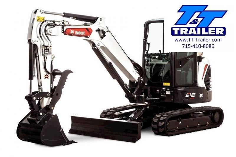 FOR RENT - E42 Bobcat Mini Excavator with Thumb
