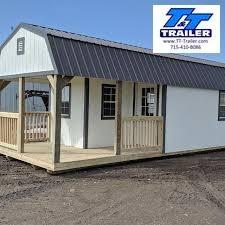 2021 12' x 32' Urethane Premier Lofted Barn Cabin