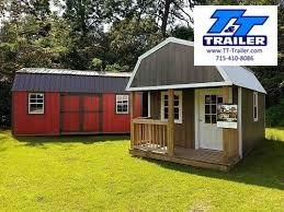 2021 Premier Urethane 8'x16' Lofted Barn