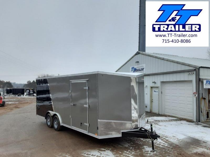 FOR RENT - 8.5 x 20 V-Nose Enclosed Cargo Trailer