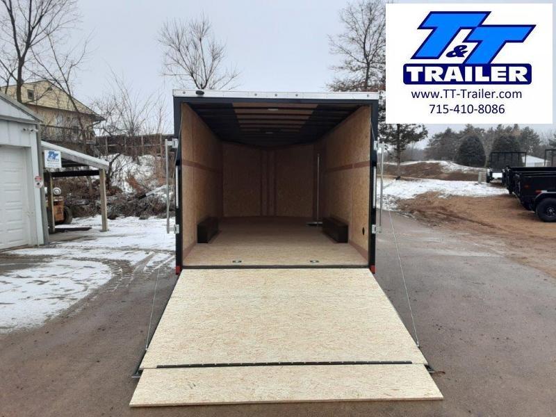 FOR RENT - 8.5 x 20 V-Nose Enclosed Cargo Trailer