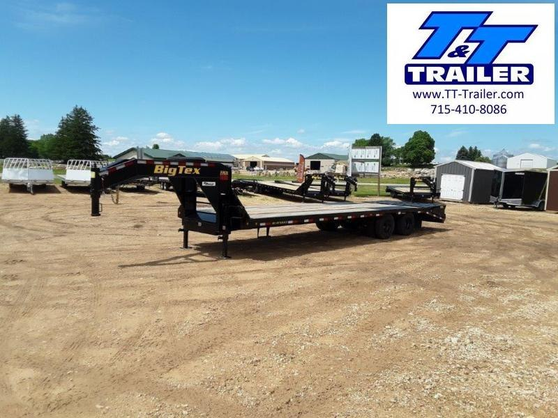 "2022 Big Tex 22GN 102"" x 33' Tandem Dual Wheel Gooseneck Trailer"