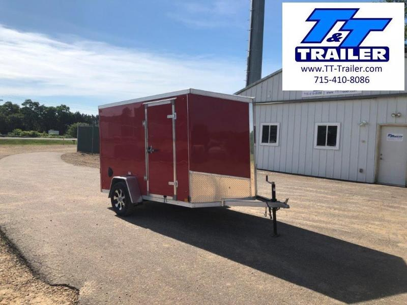 2020 Discovery Mission Aluminum 6 x 10 V-Nose Enclosed Cargo Trailer