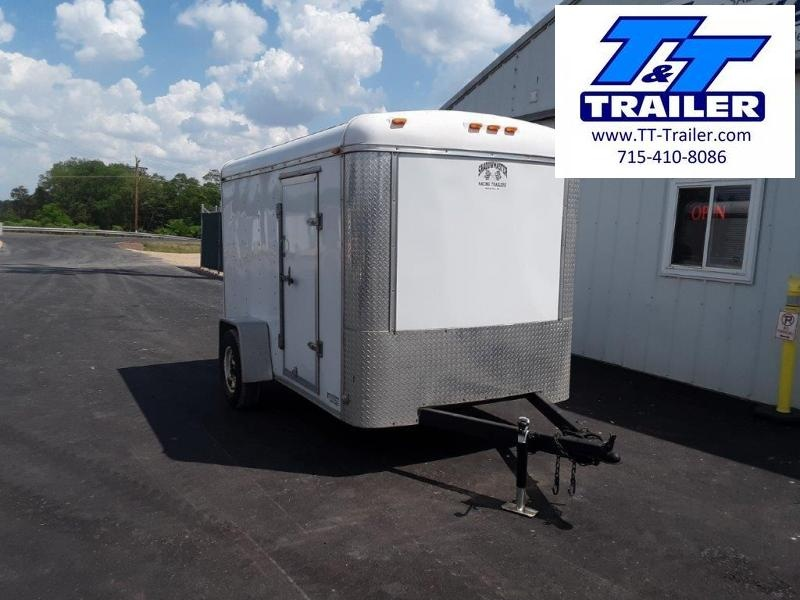 Used 2003 Shadowmaster 5 x 10 Enclosed Cargo Trailer
