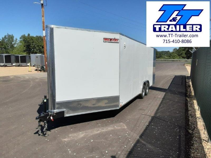 2022 Discovery Challenger ET 8.5 x 22 V-Nose Enclosed Combination Car and Toy Hauler Trailer