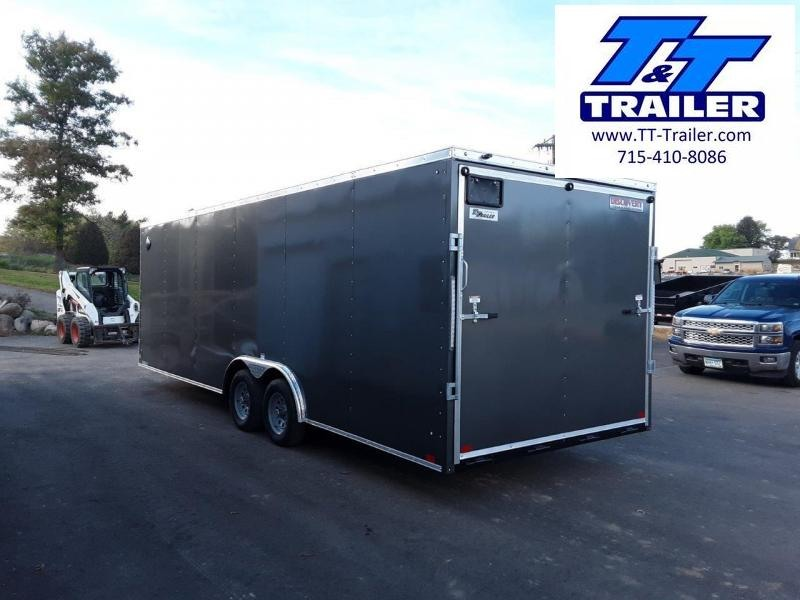 2022 Discovery Challenger ET 8.5 x 24 V-Nose Enclosed Combination Car and Toy Hauler Trailer