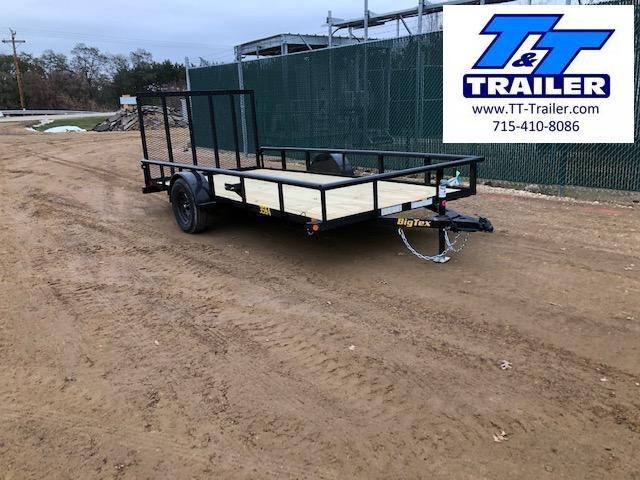 "2021 Big Tex 35SA 77"" x 14' Single Axle Utility Trailer"