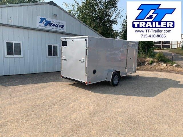 2021 Discovery Rover ET 6 x 14 V-Nose Enclosed Cargo Trailer