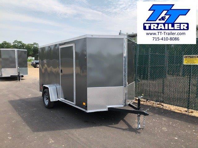 2022 Darkhorse 6 x 12 V-Nose Enclosed Cargo Trailer
