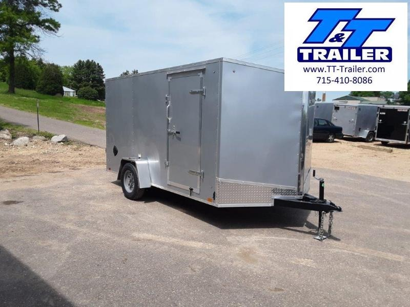 2021 Discovery Rover ET 7 x 12 V-Nose Enclosed Cargo Trailer