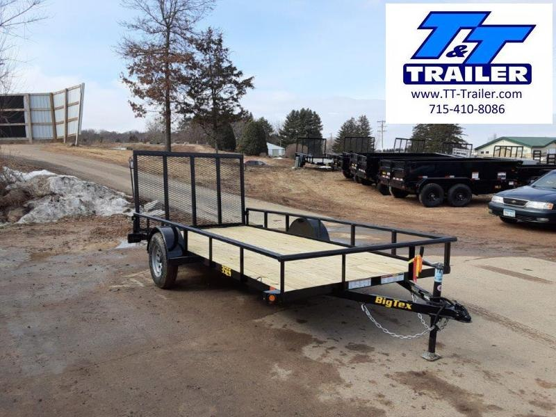 "2021 Big Tex 35ES 77"" x 12' Single Axle Utility Trailer"