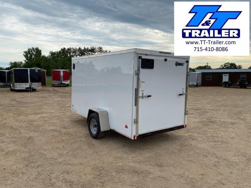 2020 Darkhorse 6 x 12 V-Nose Enclosed Cargo Trailer