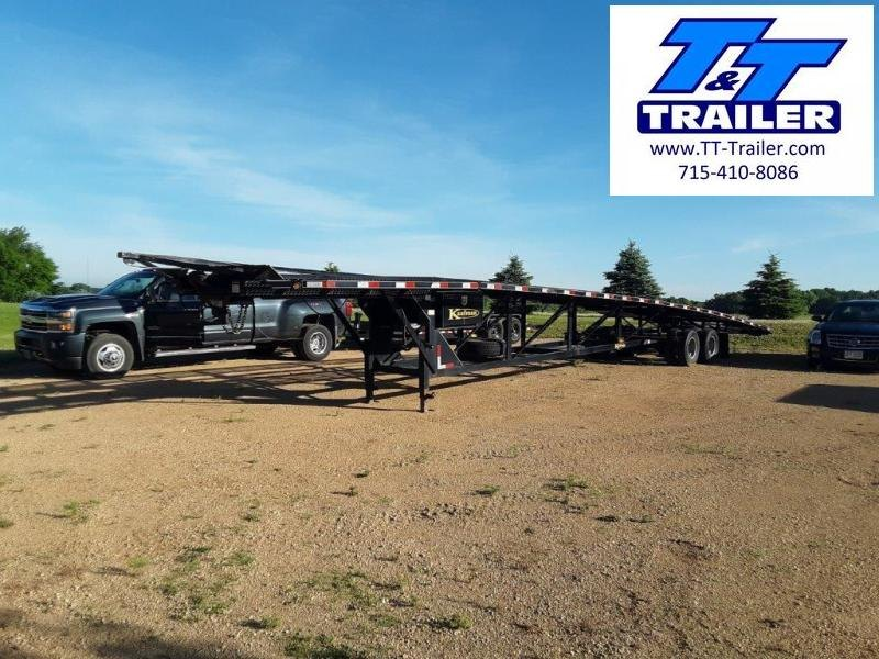 2018 Kaufman Trailers 102 x 50 Kaufman Wedge Trailer Flatbed Trailer
