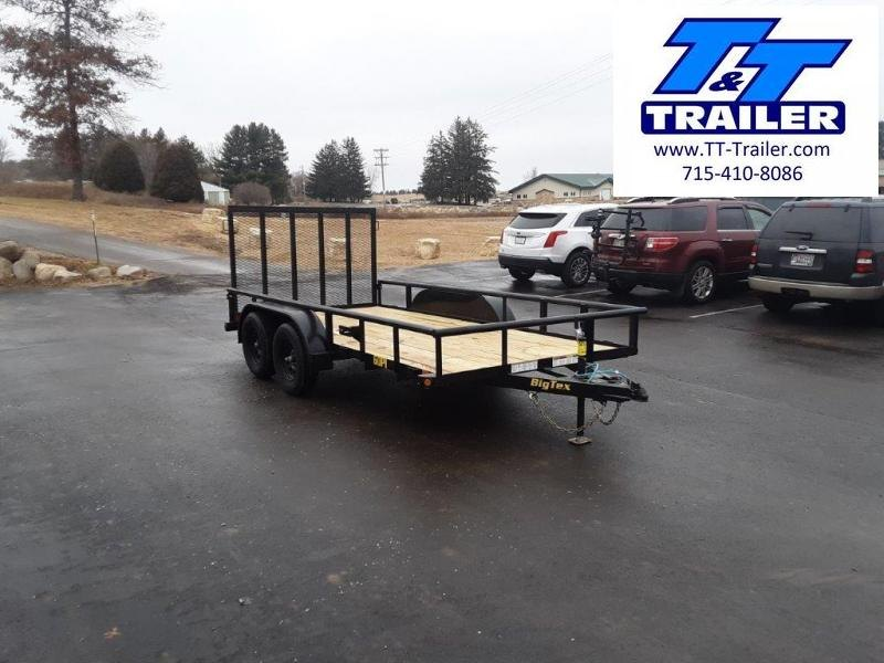 "2021 Big Tex 60PI 77"" x 14' Tandem Axle Utility Trailer"