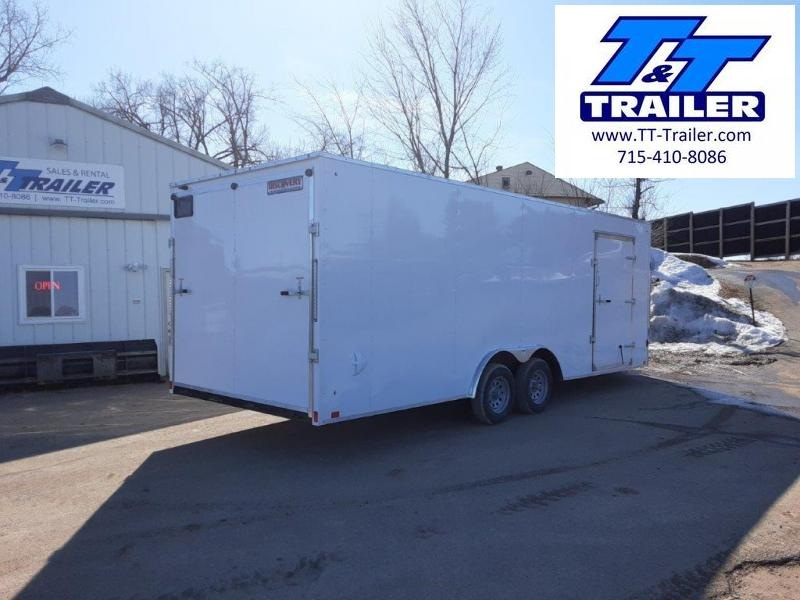 2020 Discovery Challenger ET 8.5 x 22 V-Nose Enclosed Combination Car and Toy Hauler Trailer