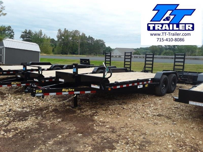 FOR RENT - 83 x 20 Car and Equipment Trailer w/ Ramps
