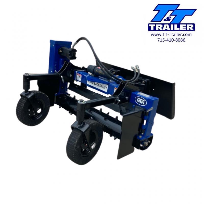 "FOR RENT - 48"" Soil Conditioner Harley Rake Attachment for Toro Dingo"