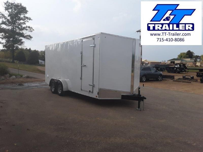 2021 Discovery Rover ET 7 X 18 V-Nose Enclosed Cargo Trailer